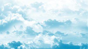 fond ciel clair