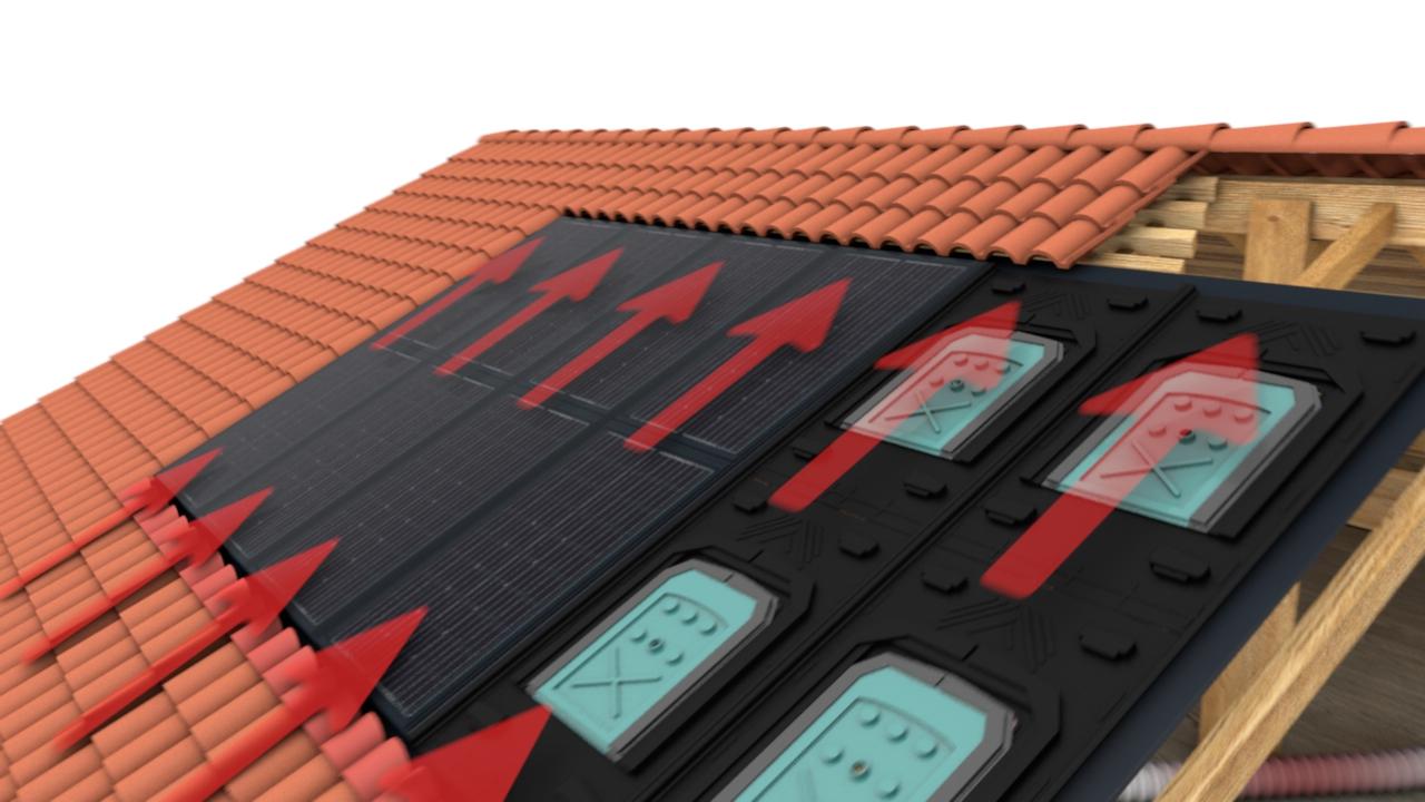 Schéma d'une installation PAC'System