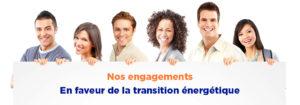 Engagement en faveur de la transition énergétique